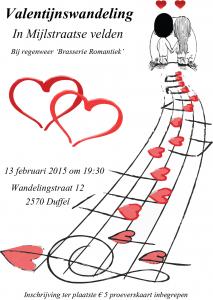 Valentijnswandeling 2015